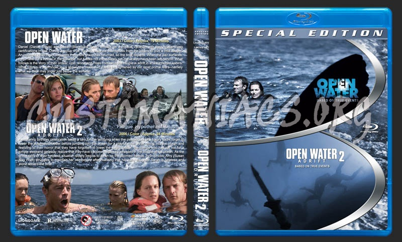 Open Water Double Feature blu-ray cover