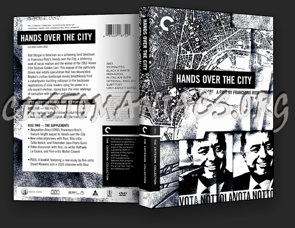 355 - Hands over the City dvd cover