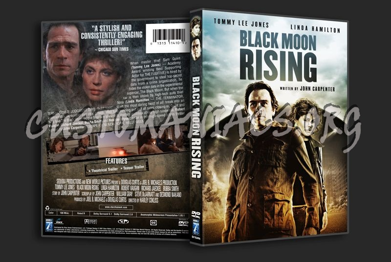 Black Moon Rising dvd cover