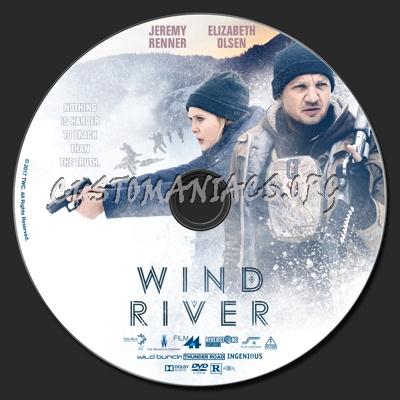 Wind River dvd label