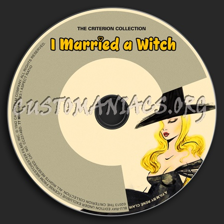 676 - I Married a Witch dvd label