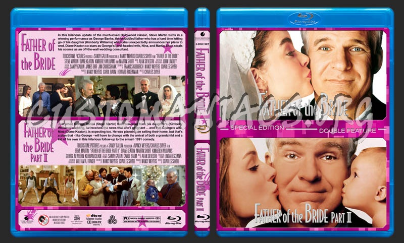 Father of the Bride Double Feature blu-ray cover