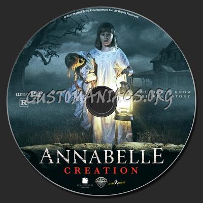 Annabelle Creation dvd label