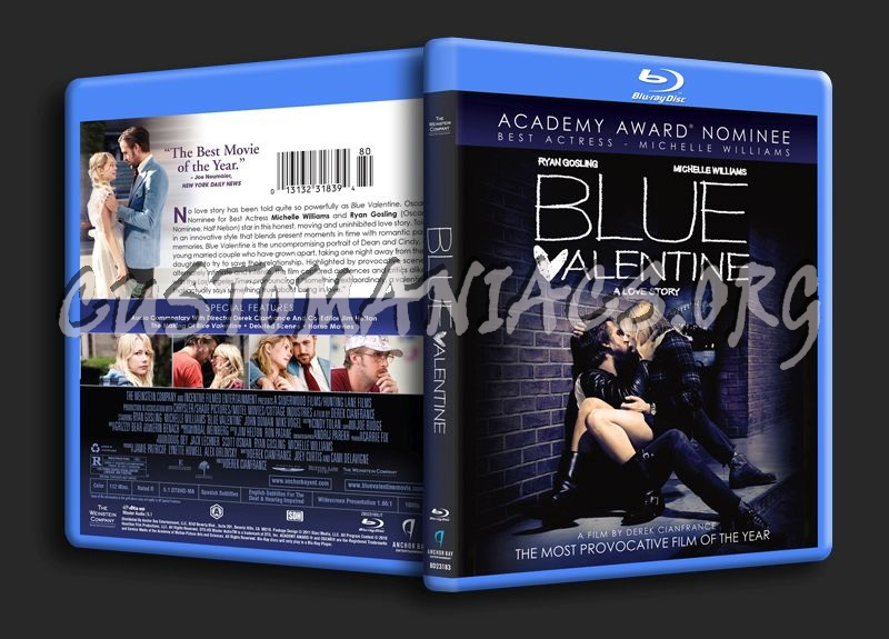 Blue Valentine blu-ray cover