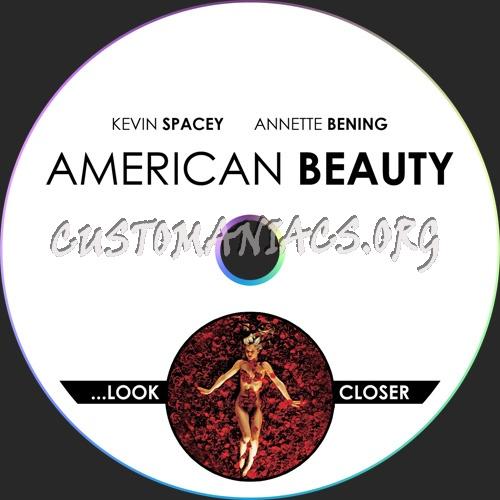 American Beauty dvd label
