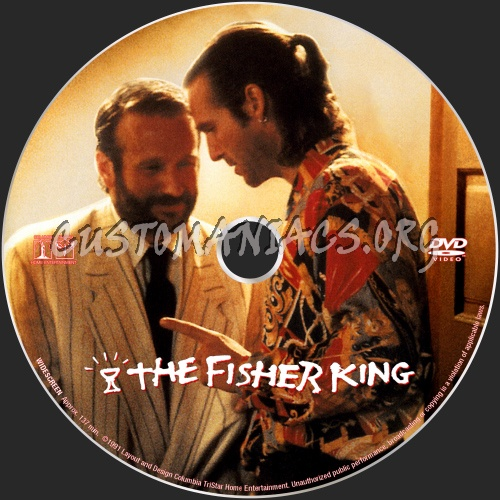 The Fisher King dvd label
