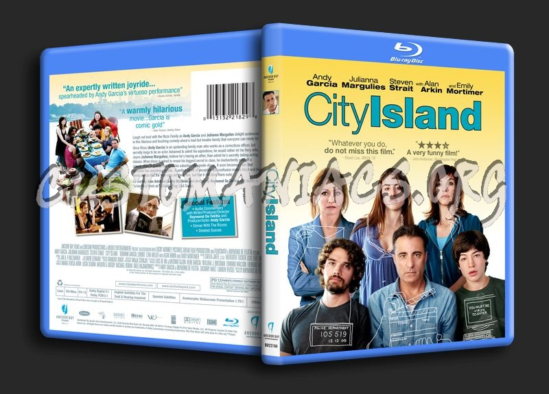 City Island blu-ray cover