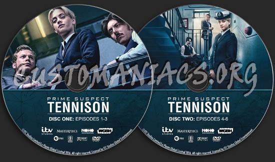 Prime Suspect: Tennison dvd label
