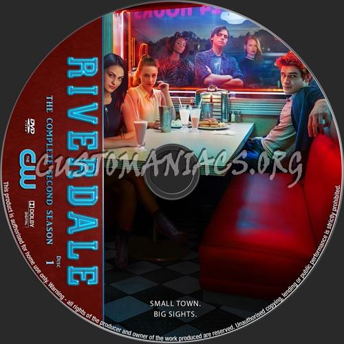 Riverdale Season 2 dvd label
