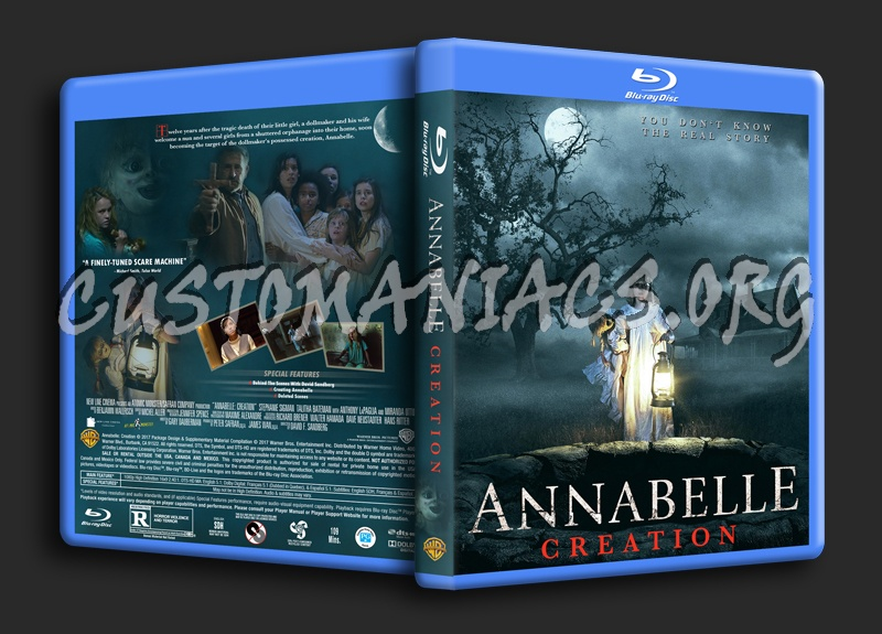 Annabelle Creation blu-ray cover