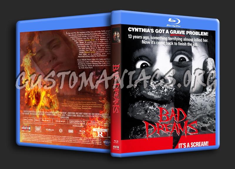 Bad Dreams (1988) blu-ray cover