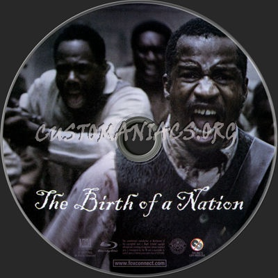 The Birth of a Nation (2016) blu-ray label