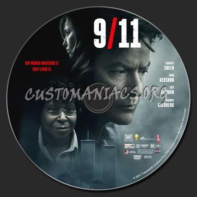 9/11 (nine eleven) dvd label