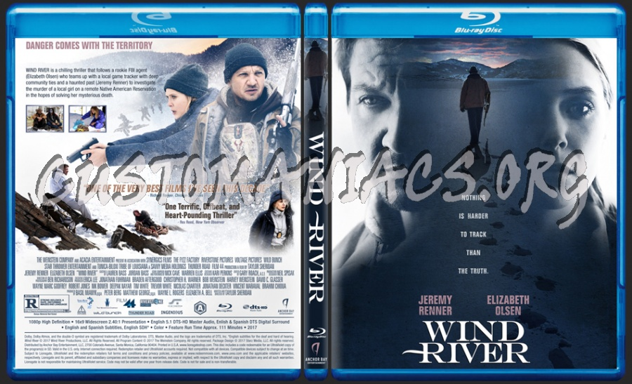 Wind River blu-ray cover