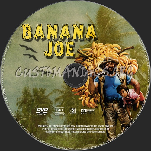 Banana Joe dvd label