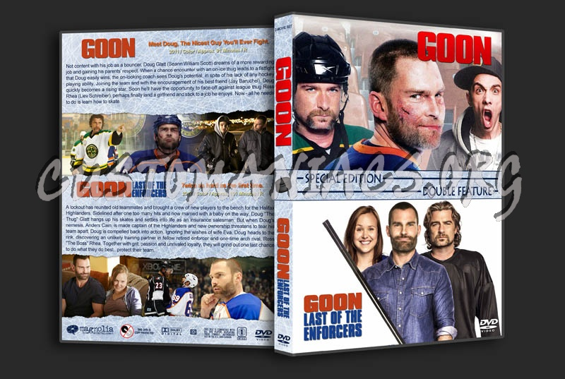 Goon Double Feature dvd cover