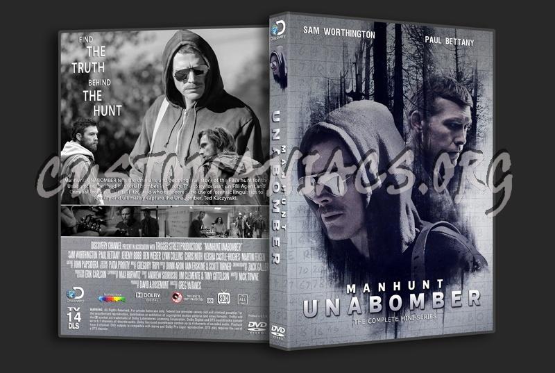 Manhunt-Unabomber dvd cover