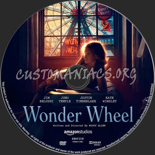 Wonder Wheel dvd label