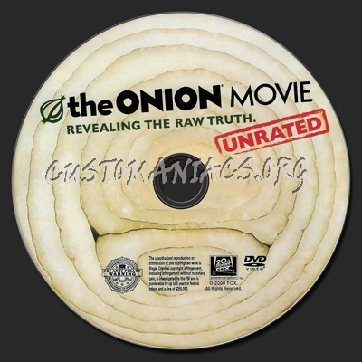 The Onion Movie dvd label