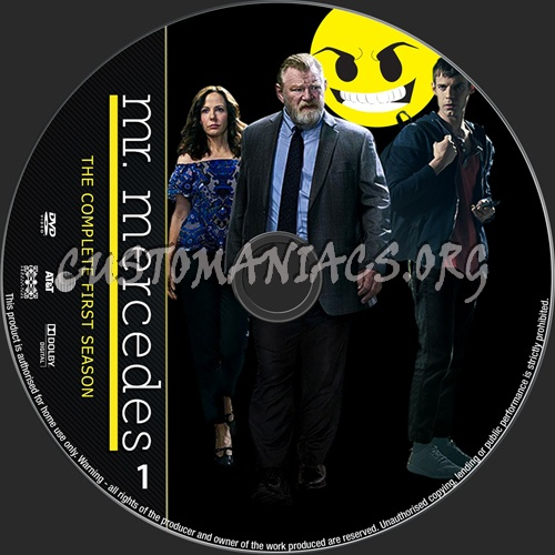 Mr Mercedes Season 1 dvd label