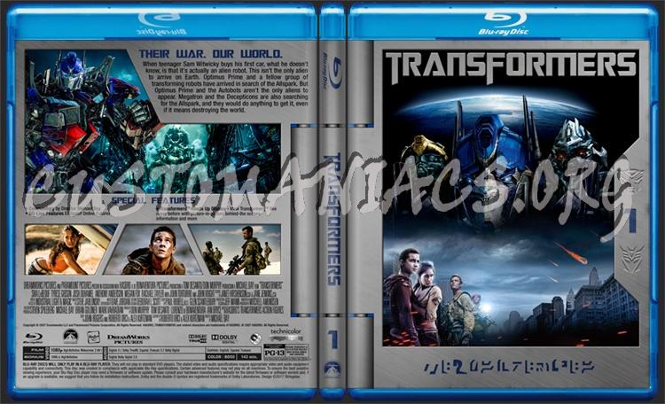 Transformers blu-ray cover