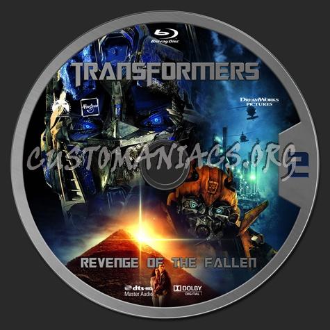 Transformers: Revenge of the Fallen blu-ray label