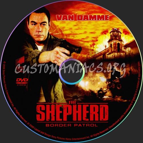 The Shepherd Border Patrol : Border Patrol dvd label