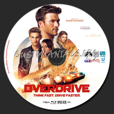 Overdrive blu-ray label