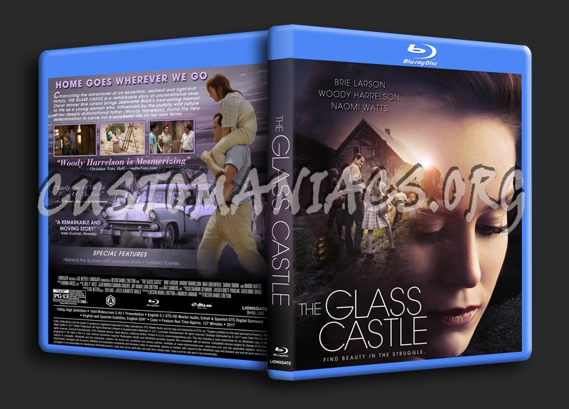 The Glass Castle blu-ray cover