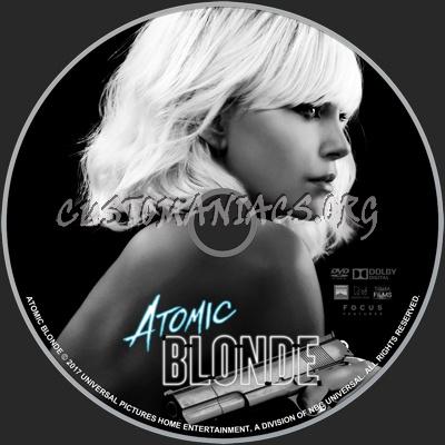 Atomic Blonde (2017) dvd label