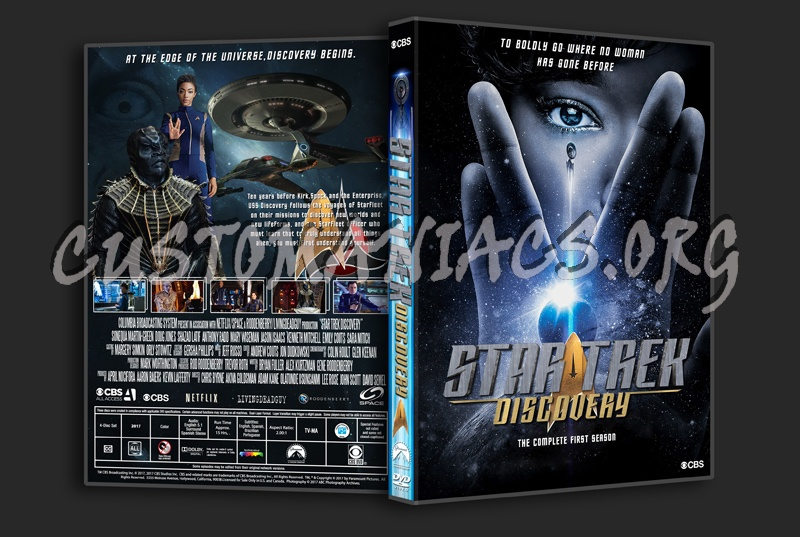 Star Trek Discovery Season 1 dvd cover