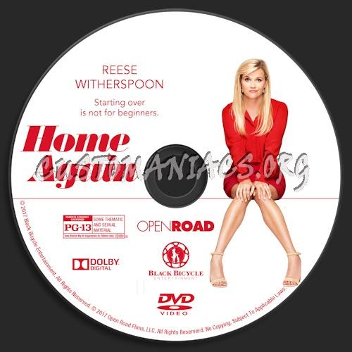 Home Again dvd label