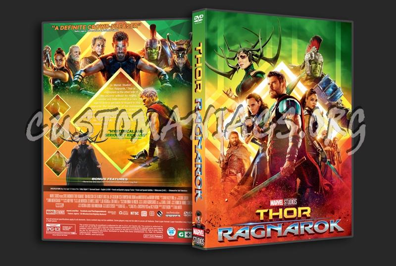Thor: Ragnarok dvd cover