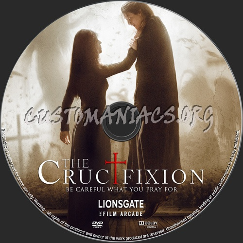 The Crucifixion dvd label