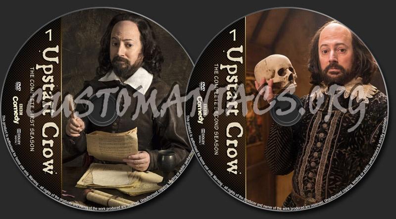 Upstart Crow Seasons 1-2 dvd label