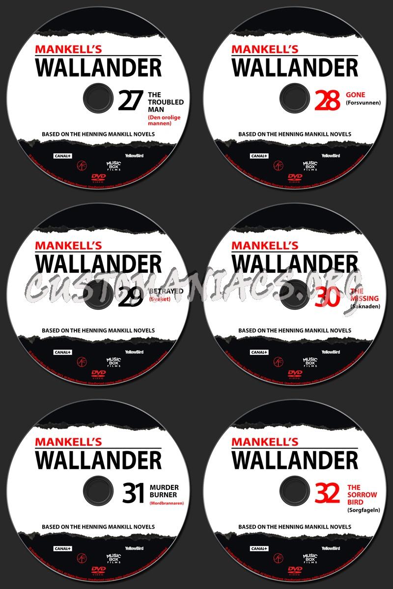Wallander - Complete Collection dvd label