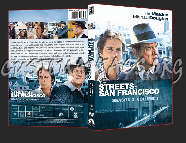 The Streets of San Francisco Season 2 Volume 1 dvd cover