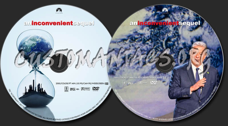 An Inconvenient Sequel dvd label