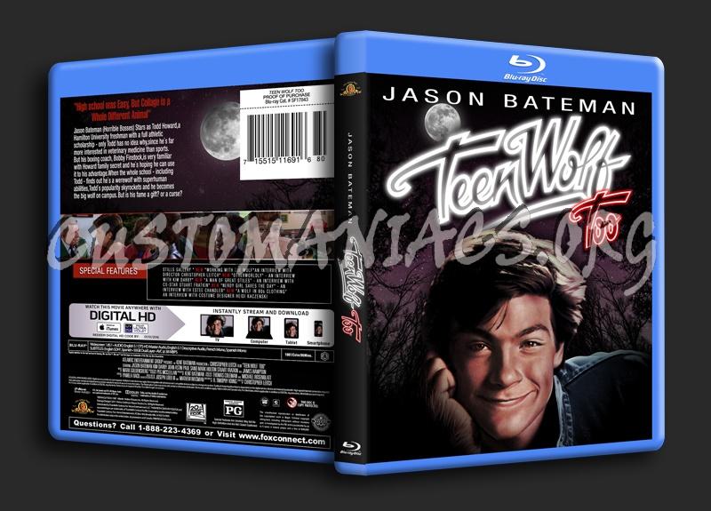 Teen Wolf Too blu-ray cover