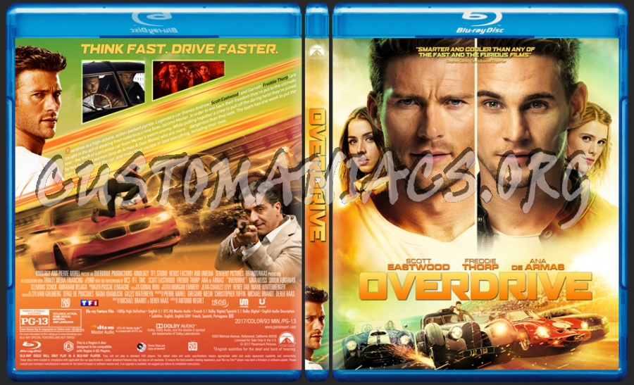Overdrive blu-ray cover