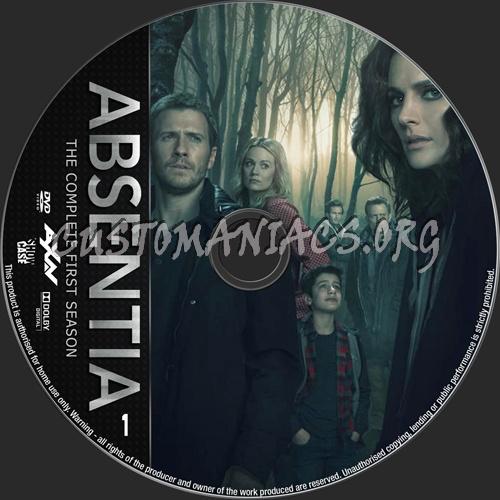 Absentia Season 1 dvd label