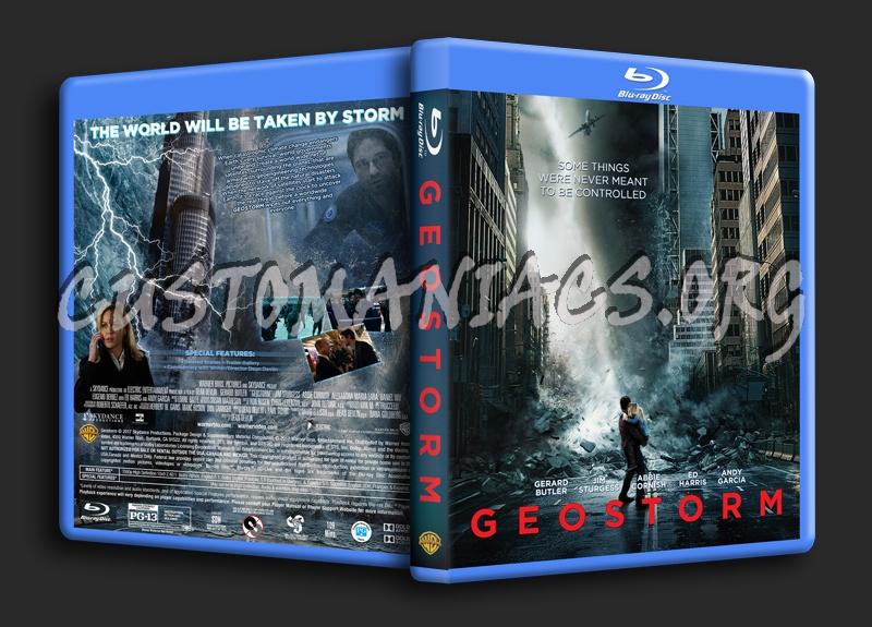 Geostorm blu-ray cover