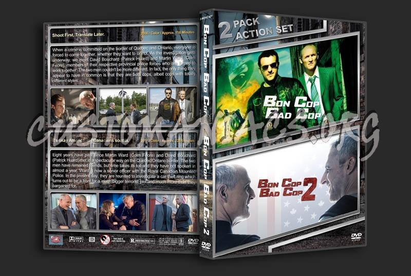 Bon Cop Bad Cop Double dvd cover