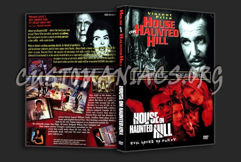 House on Haunted Hill - Double Feature dvd cover
