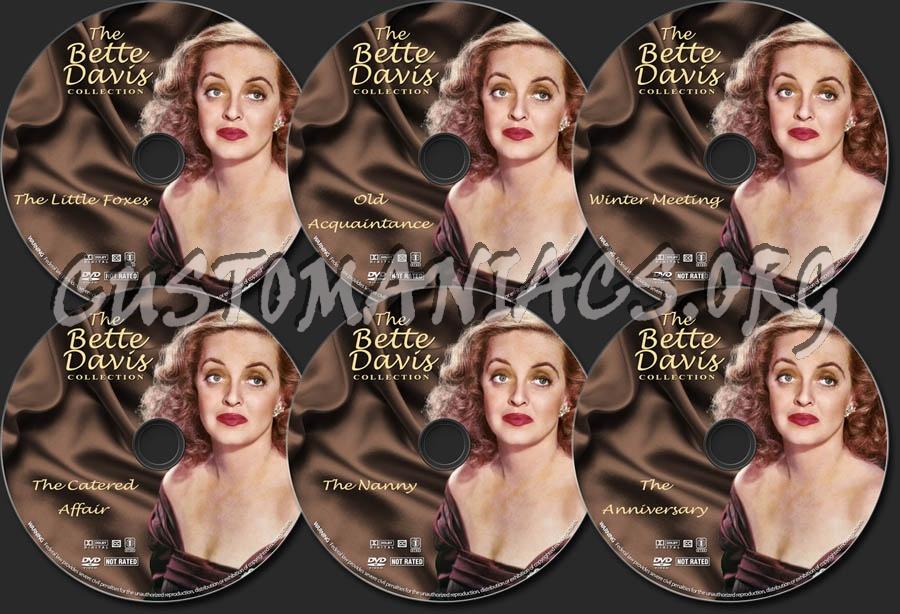 Bette Davis Collection - Volume 5 dvd label