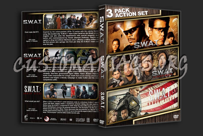 S.W.A.T. Triple Feature dvd cover
