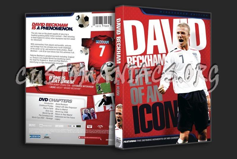 David Beckham Life of an Icon dvd cover