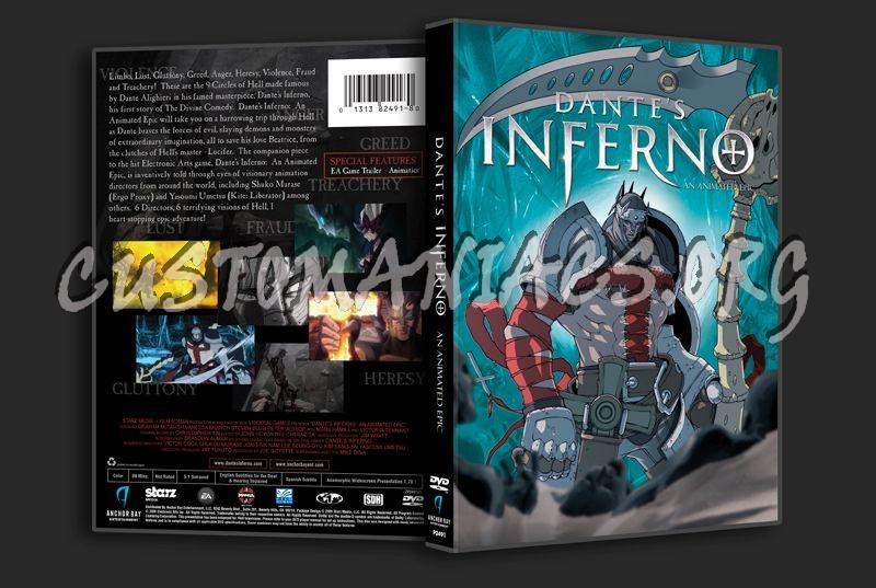 Dante's Inferno dvd cover
