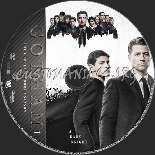 Gotham Season 4 dvd label