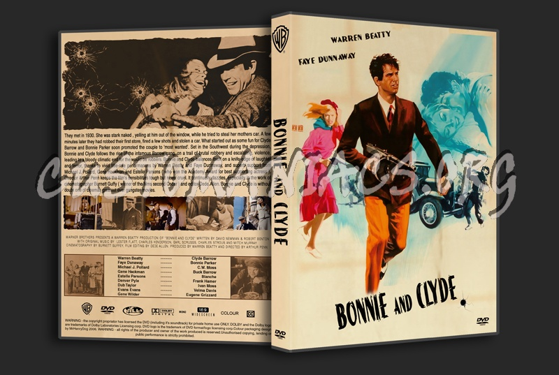 Bonnie And Clyde dvd cover